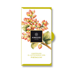 Amedei White Milk Chocolate with Pistachio