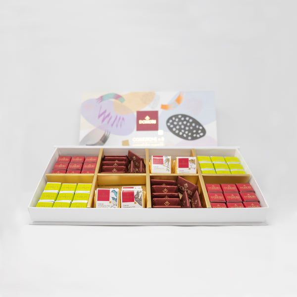 Domori Collezione n.8 Assorted Chocolates Gift Box