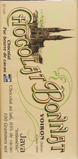 "Bonnat 65% Indonesia ""Java"" Dark Milk Chocolate Bar"