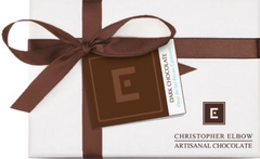 Christopher Elbow 6 Piece Fleur de Sel Pecan Caramel Chocolates