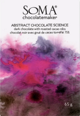 Soma Abstract Chocolate Science 75% with roasted Cacao Nibs