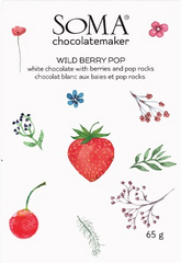 Soma Wild Berry Pop White Chocolate Bar