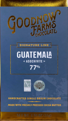 "Goodnow Farms Guatemala ""Asochivite"" 77% Dark Chocolate"