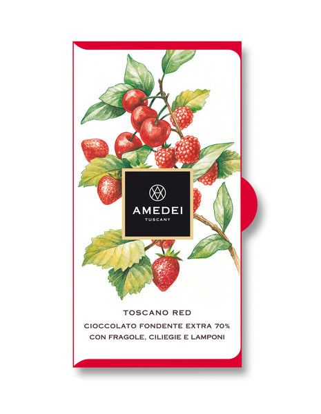 Amedei Toscano Red Chocolate Bar