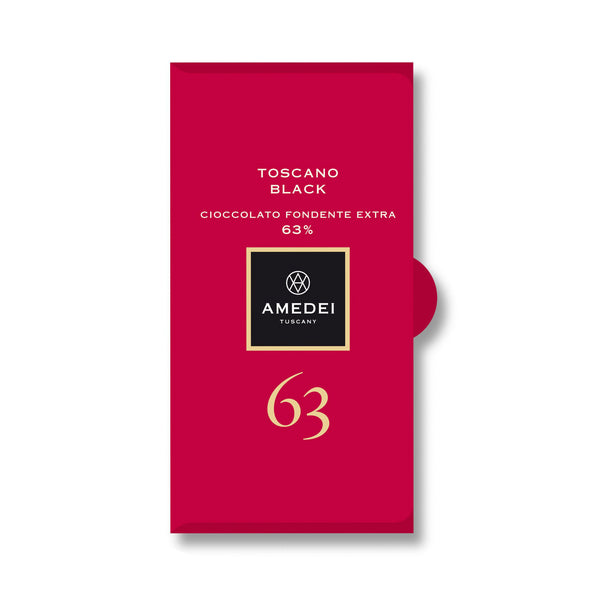 Amedei Toscano Black Chocolate Bar 63% (exp 09/30/20)