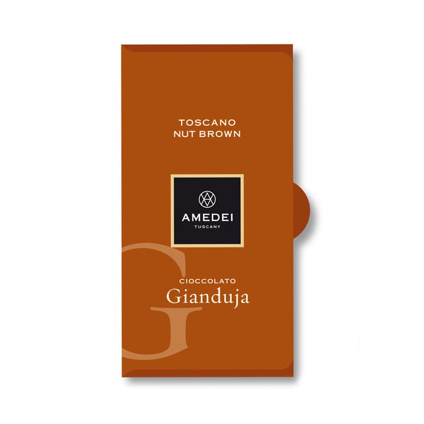 Amedei Toscano Nut Brown Chocolate Bar - Gianduja