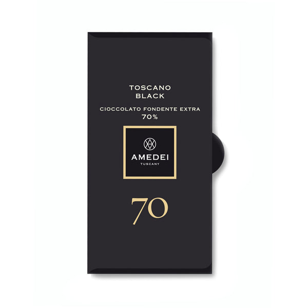 Amedei Toscano Black Dark Chocolate Bar 70%