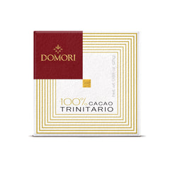 Domori Trinitario 100% Dark Chocolate 50gr bar (Sugar Free)