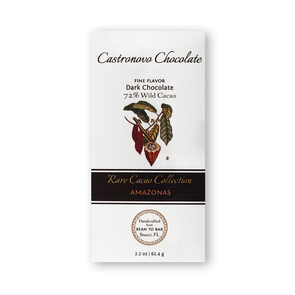 Castronovo Chocolate Rare Cacao Collection Amazonas 72%