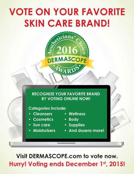 Dermascope Aetheticians' Choice Awards