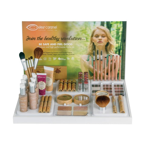 Couleur Caramel Organic Makeup Pro Display
