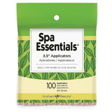 "Spa Essentials 3.5"" Wax Applicator Sticks 100 ct"