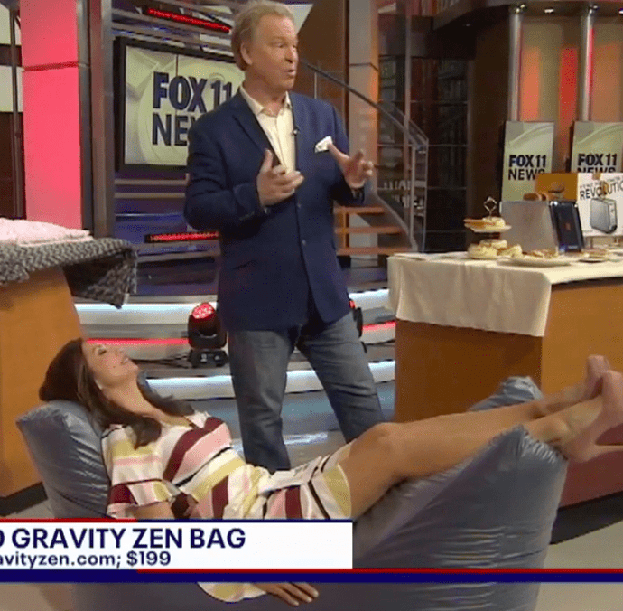 Fox Los Angeles' Dr. Gadget featuring Magic Weighted Blanket & Zero Gravity Zen