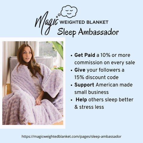 Magic weighted blanket affiliate