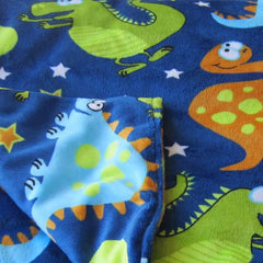 The Magic Weighted Blanket - Ultra Soft Dino Minky - Magic Weighted Blanket