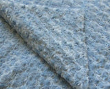 Light Blue Chenille Quilted Weighted Blanket - Magic Weighted Blanket