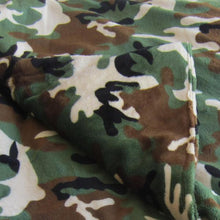 Load image into Gallery viewer, Camouflage Minky Magic Weighted Blanket - Magic Weighted Blanket