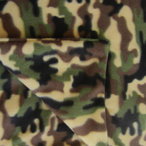 Camouflage Fleece Magic Weighted Blanket