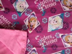 Frozen Sisters Cotton / Pink Cotton - Magic Weighted Blanket