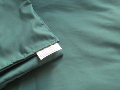 Green Cotton Magic Weighted Blanket