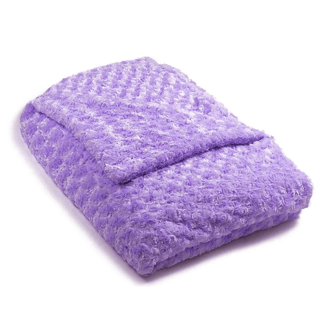 Light Purple Chenille Magic Weighted Blanket (click box below for more sizes)