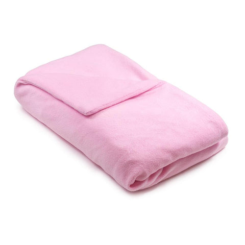 Pink Fleece Magic Weighted Blanket