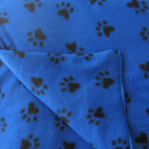 Puppy Prints Fleece