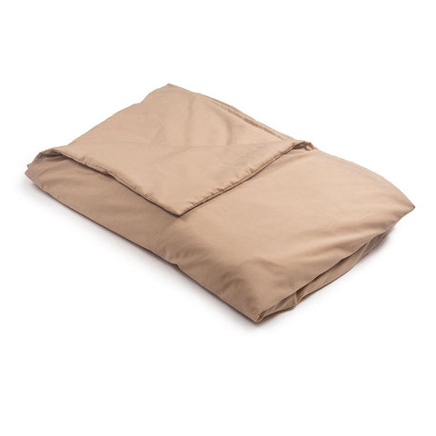 Tan Cotton Magic Weighted Blanket