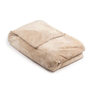 Beige Minky Magic Weighted Blanket - Magic Weighted Blanket