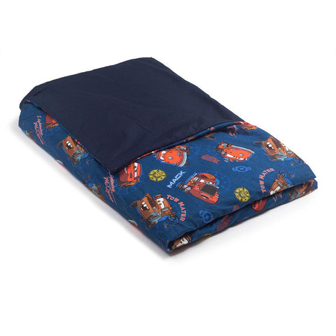Cars Cotton / Blue Cotton - Magic Weighted Blanket