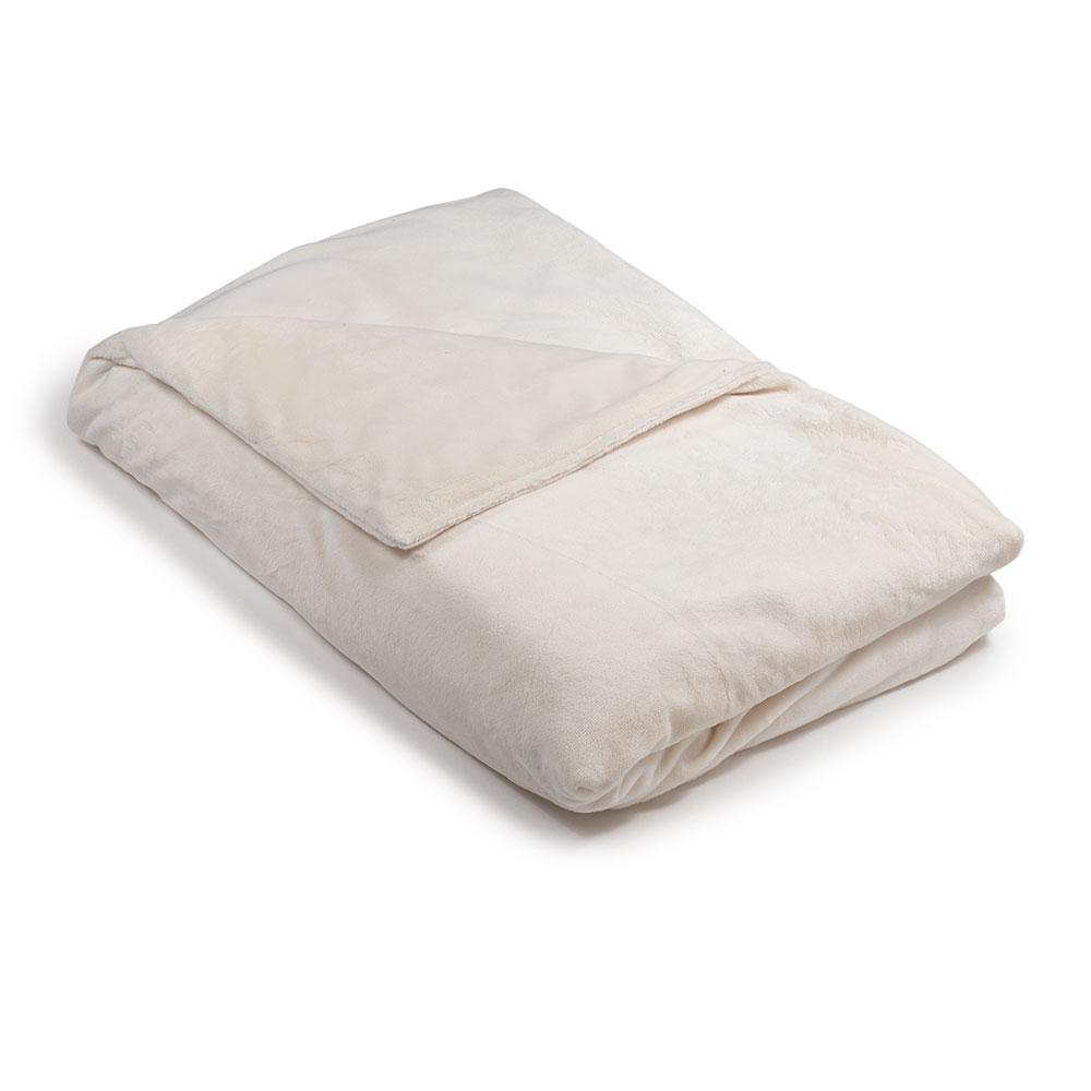 Cream Minky Magic Weighted Blanket - Magic Weighted Blanket