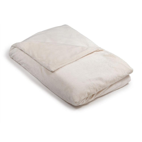 Cream / Ivory Minky - Magic Weighted Blanket