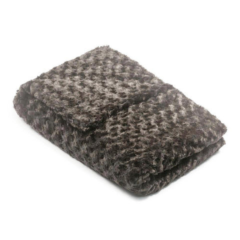 Charcoal Grey Chenille Magic Weighted Blanket (click box below for more sizes)
