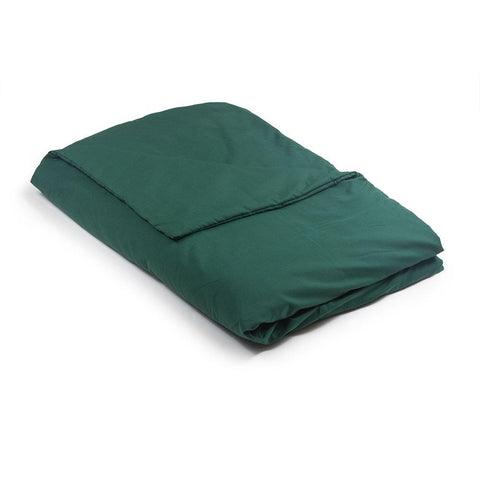 Green Cool Cotton Weighted Blanket
