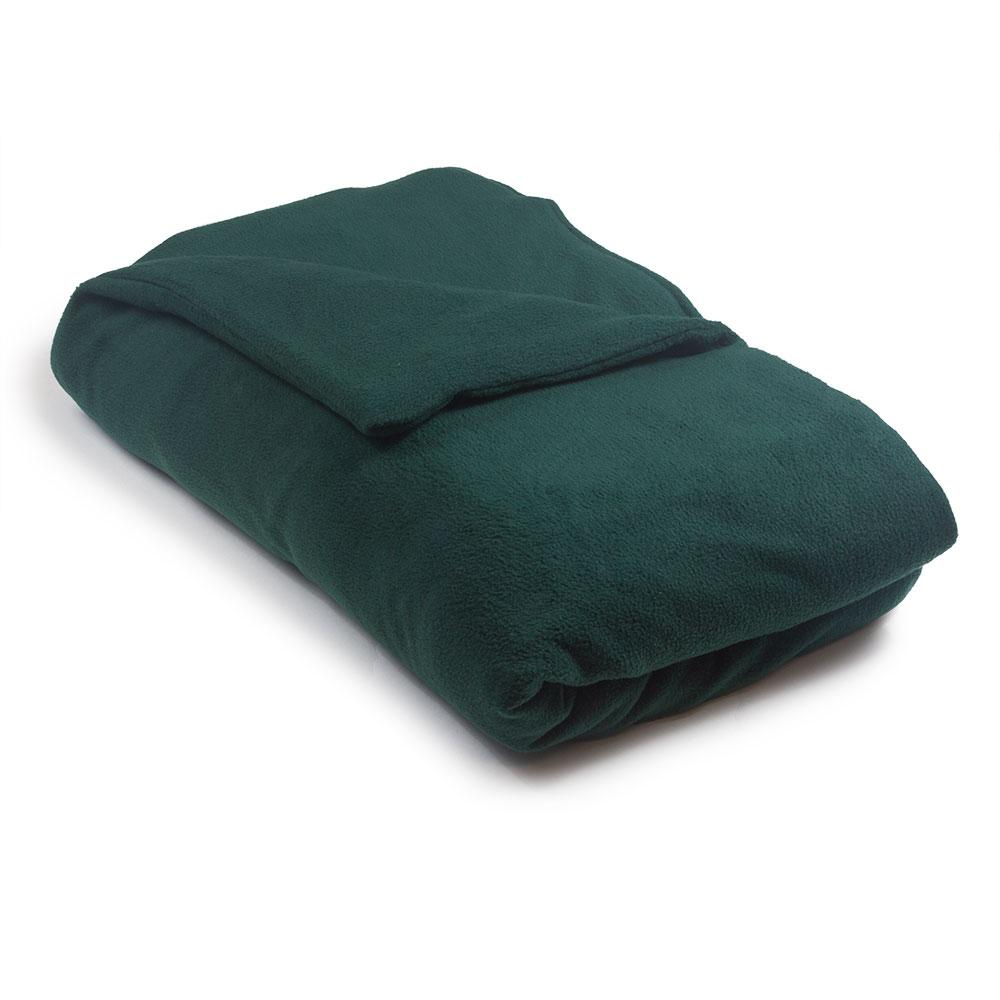 green weighted blanket in warm fleece. Black Bedroom Furniture Sets. Home Design Ideas