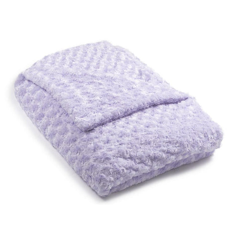 Lavender Chenille Magic Weighted Blanket (click box below for more sizes)