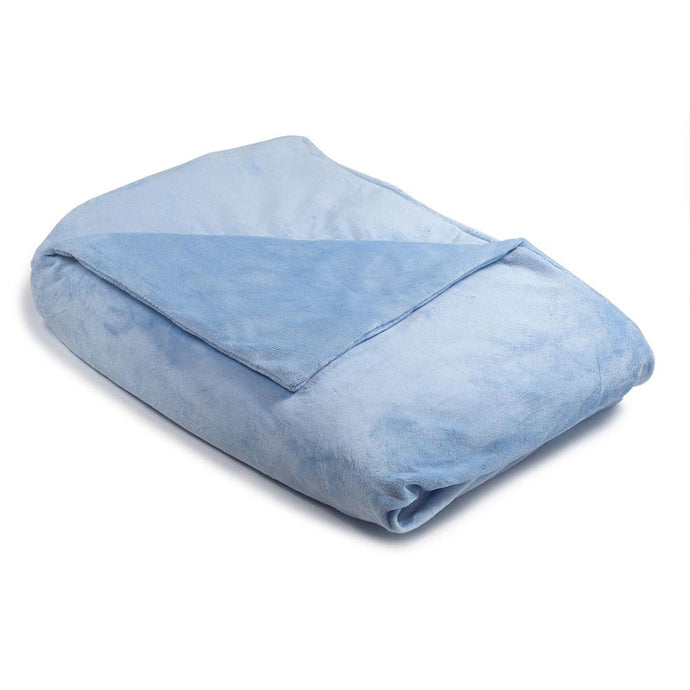 Light Blue Minky Magic Weighted Blanket - Magic Weighted Blanket