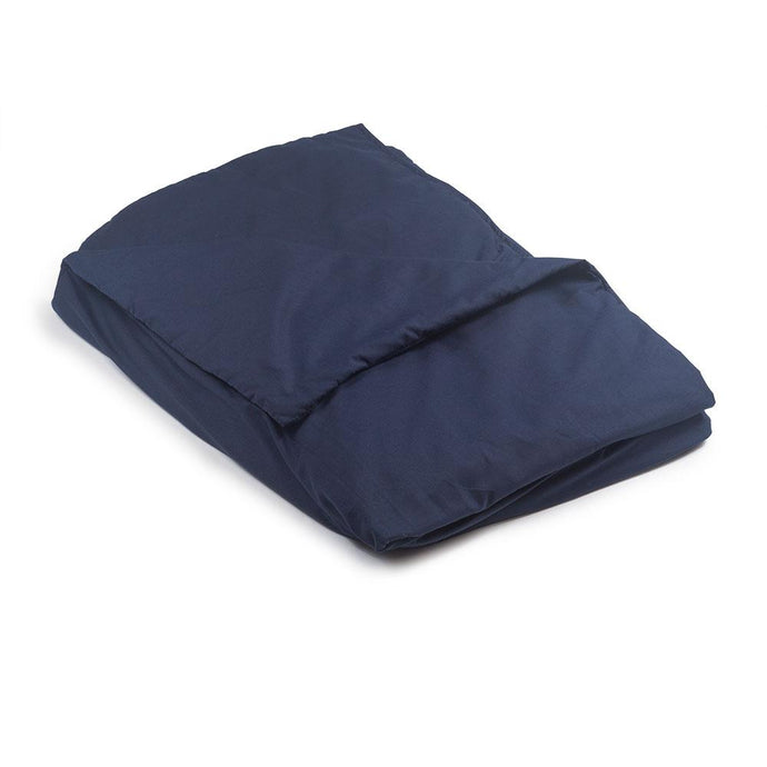 Navy Blue Cotton Magic Weighted Blanket - Magic Weighted Blanket