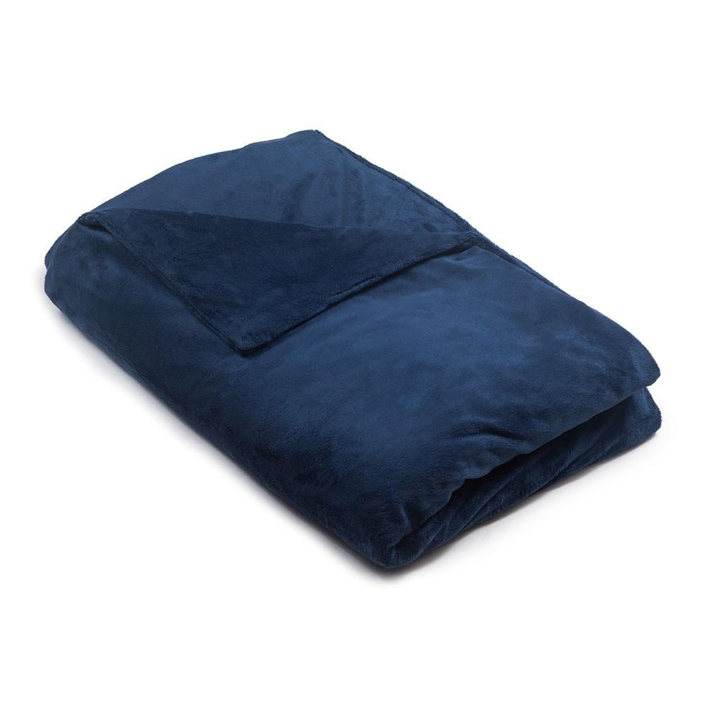 Navy Blue Minky Magic Weighted Blanket - Magic Weighted Blanket