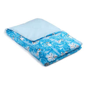 Olaf Cotton / Blue Cotton - Magic Weighted Blanket