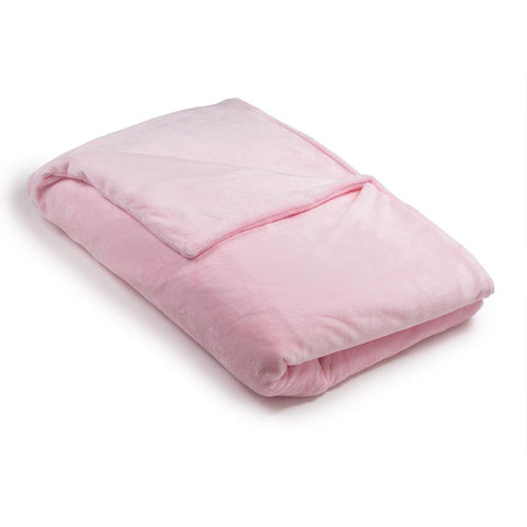 Pink Minky Magic Weighted Blanket