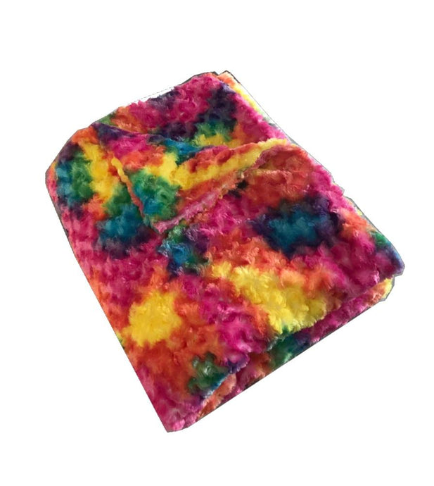 Rainbow Chenille Magic Weighted Blanket - Magic Weighted Blanket