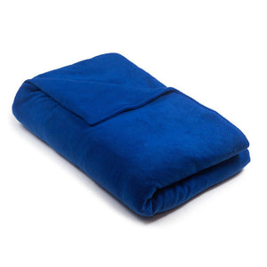 Royal Blue Fleece - Magic Weighted Blanket