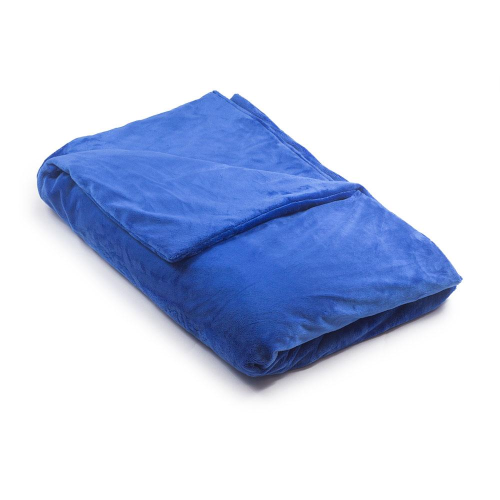 Royal Blue Minky Magic Weighted Blanket - Magic Weighted Blanket
