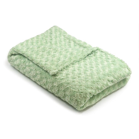 Sage Green Chenille Magic Weighted Blanket