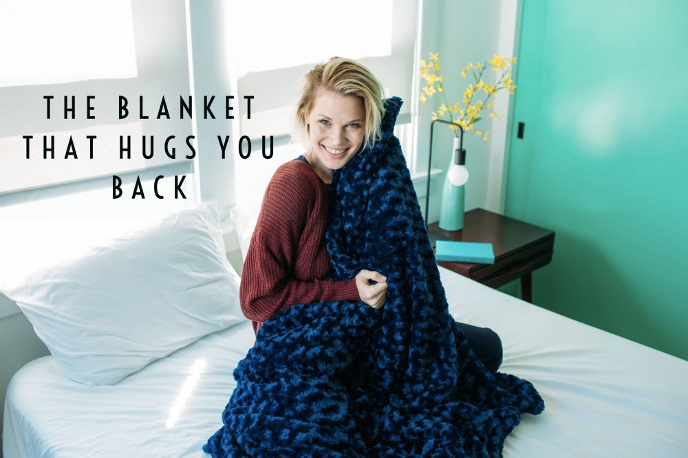 world's first weighted blanket