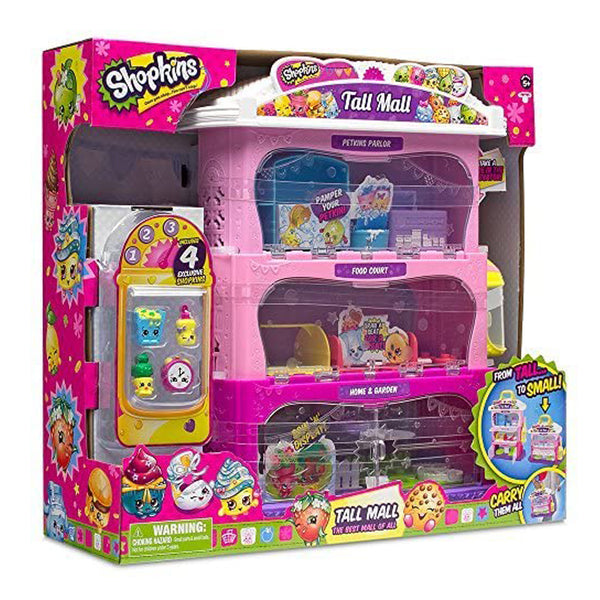 SHOPKINS S5 TALLMALL STORAGE CASE 84909