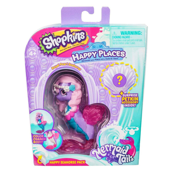 HAPPY PLACES T6 W1 MINI SHOPPIE - HAPPY SEAHORSE PACK 81698