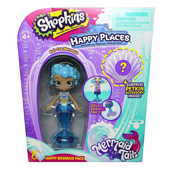HAPPY PLACES T6 W1 MINI SHOPPIE - HAPPY MERMAID PACK 81698