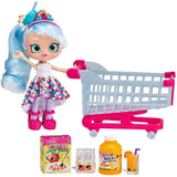 SHOPKINS S12 REAL LITTLES CHRISSY PUFF + SHOPPIN' CART 83042